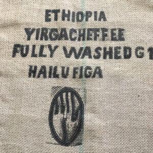 Sac toile de jute café Hailu Figa