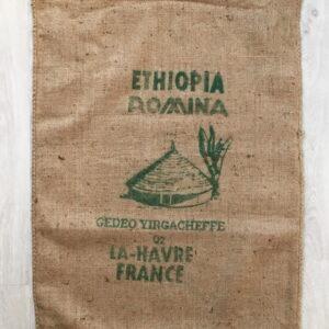 Sac de café en jute Romina -avant