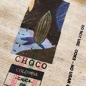 Makoha - sac en toile de jute café Choco