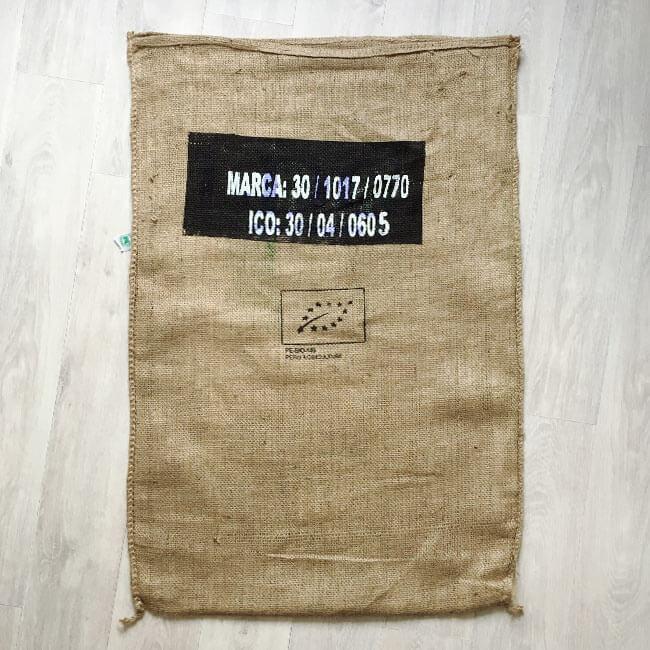 Makoha - sac de café en jute Llama 2022 - arrière