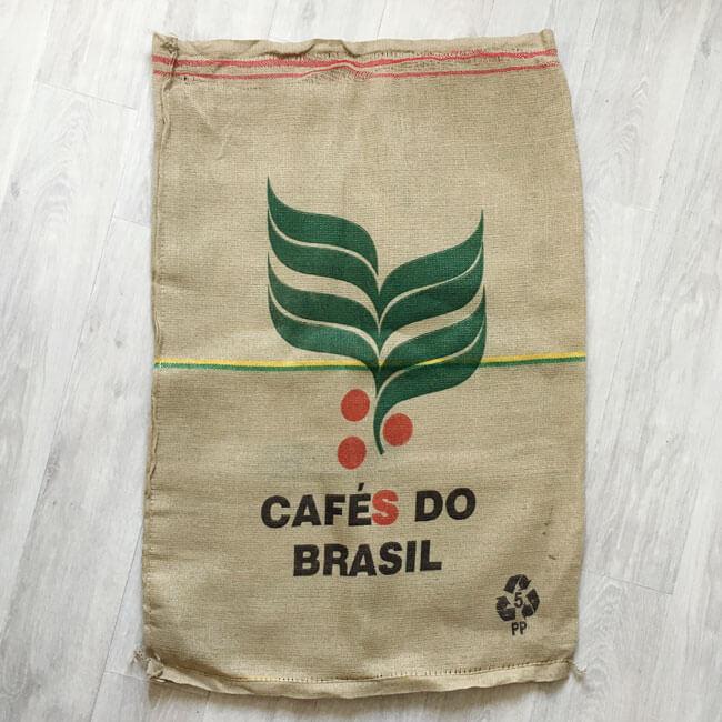 Makoha - sac en toile de jute et synthétique café Muriqui - arrière