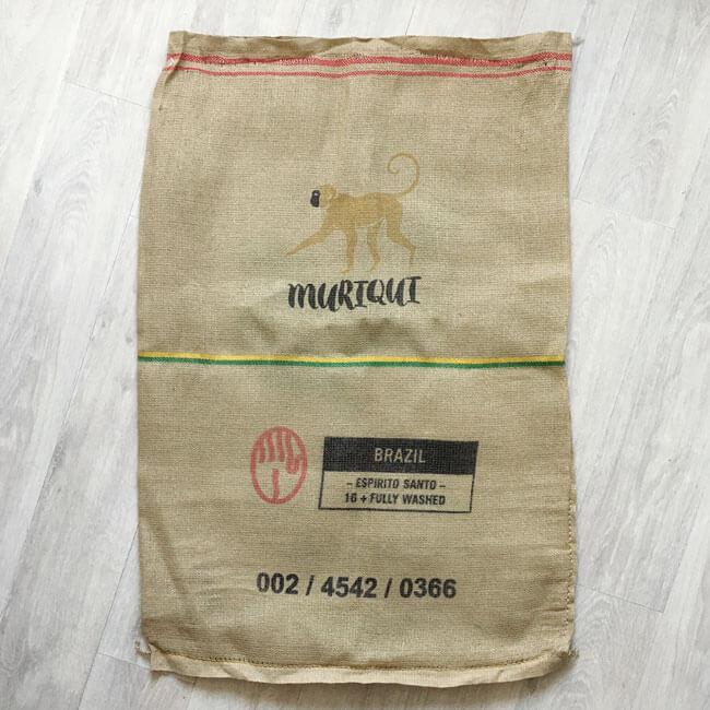 Makoha - sac en toile de jute et synthétique café Muriqui - avant