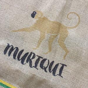 Makoha - sac en toile de jute et synthétique café Muriqui