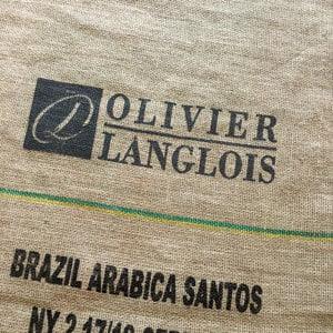 Makoha - sac en toile de jute café Olivier Langlois Brésil
