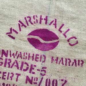 Sac en toile de jute café Marshallo