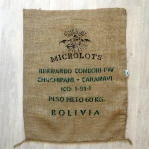Makoha - sac de café en toile de jute Caravani - avant