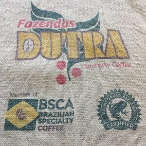 Makoha - sac en toile de jute et synthétique café Dutra