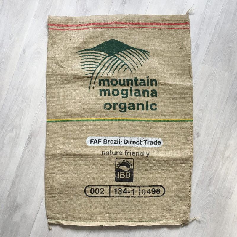 Sac de café jute synthétique Moutain Mogian - avanta