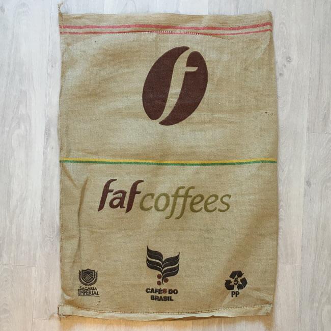 Makoha - sac de café en jute et synthétique Anhumas - arrière