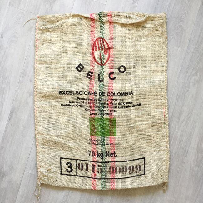 Sac sisal café Fábrica - arrière