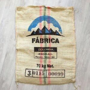 Sac sisal café Fábrica - avant
