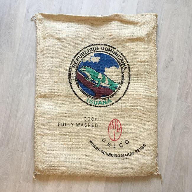 Makoha - sac en sisal café Iguana - avant