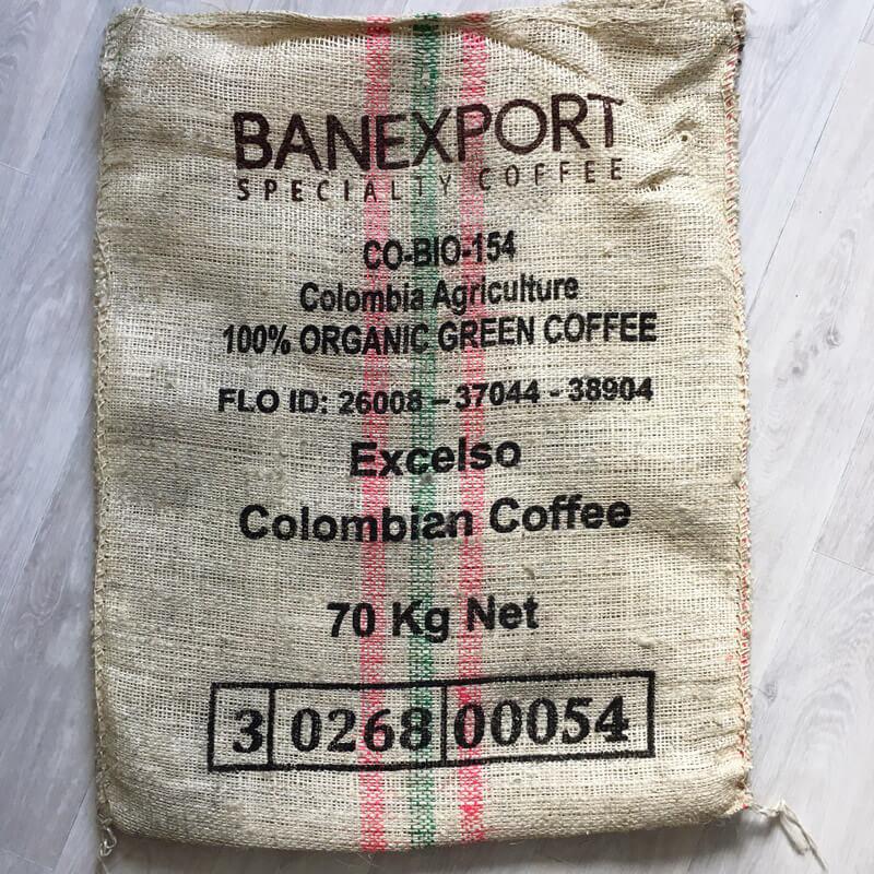 Sac sisal café Vallenao - face arrière