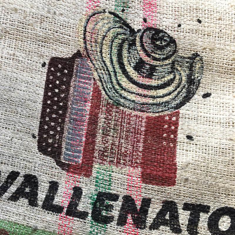 Sac sisal café Vallenato