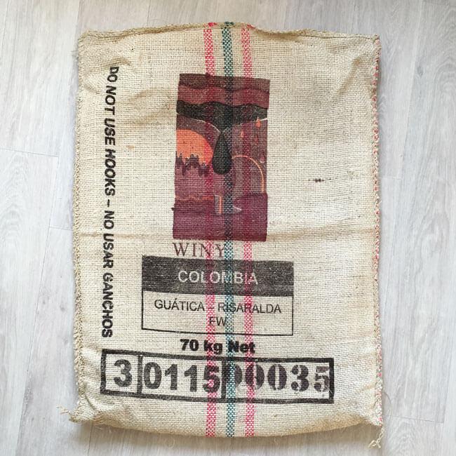 Makoha - Sac en sisal café Winy - avant