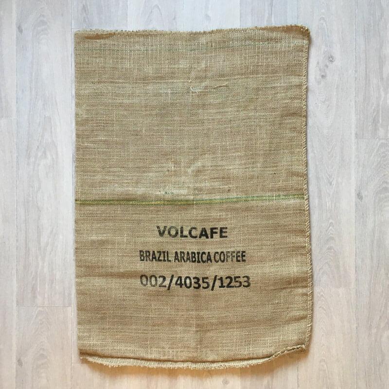 Makoha - sac en toile de jute Atlantica Coffee - arrière