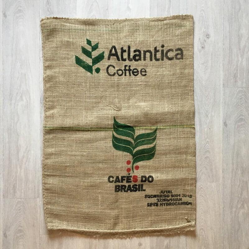 Makoha - sac en toile de jute Atlantica Coffee - avant