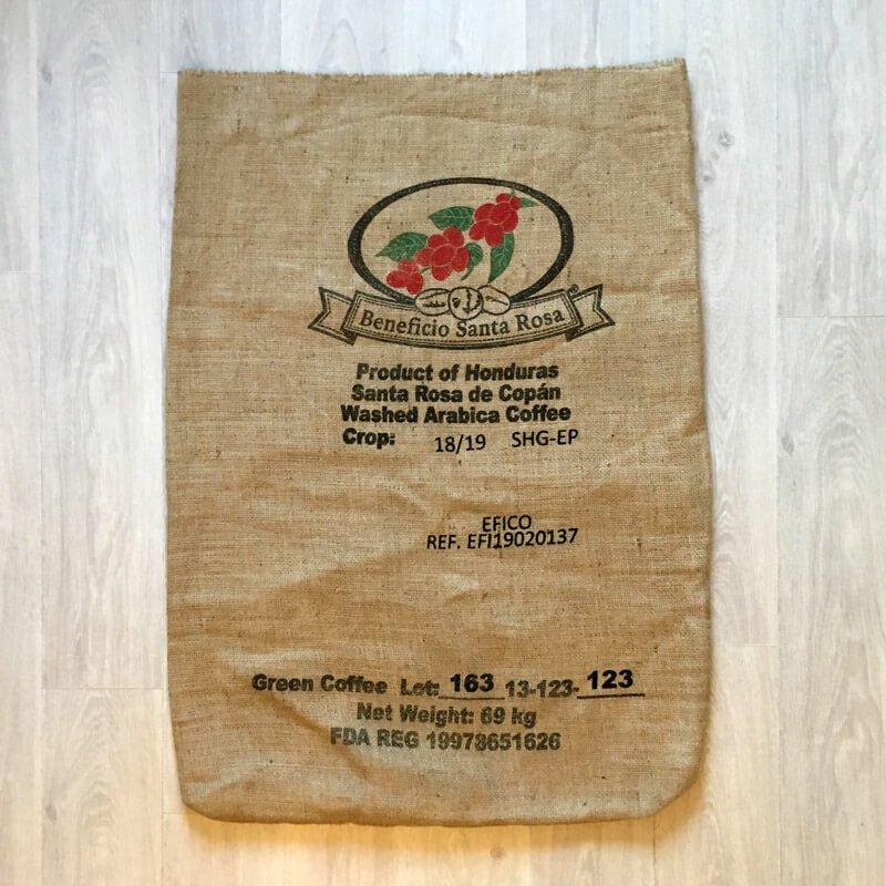 Sac de café Beneficio Santa Rosa - avant