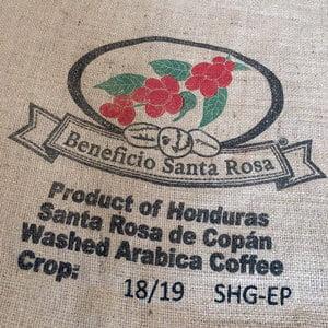 Makoha - sac en toile de jute café Beneficio Santa Rosa