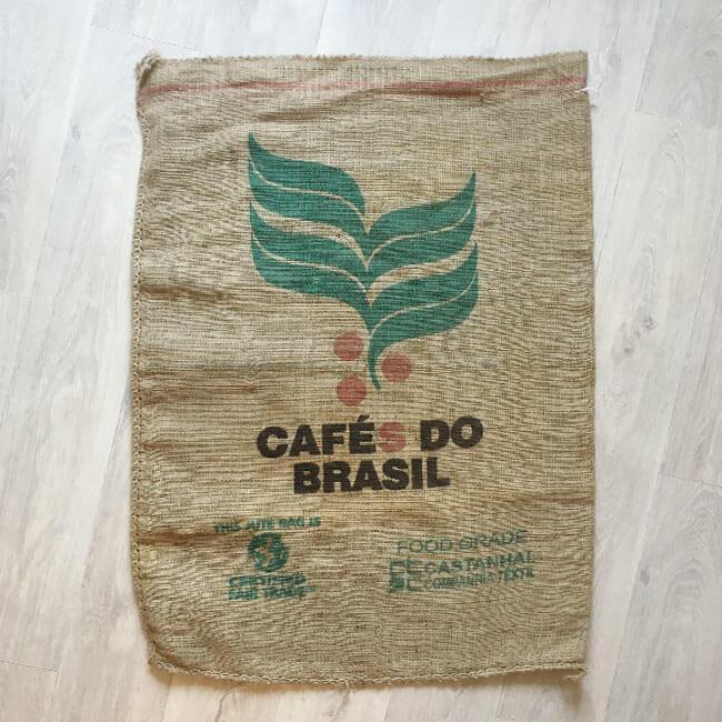 Makoha - Sacs de café en jute café Brasil Arabica - arrière
