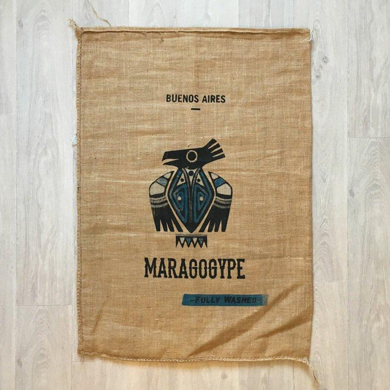 Makoha - sac en toile de jute Buenos Aires Maragogype - avant