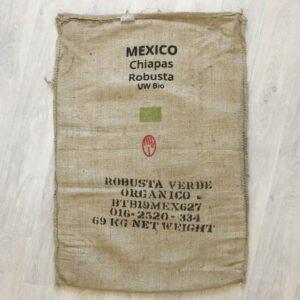 Sac toile de jute café Chiapas - avant