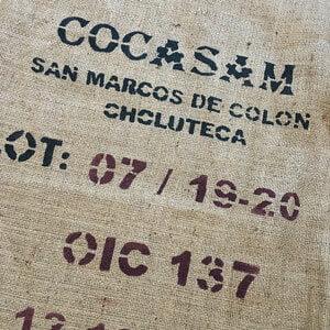 Sac toile de jute café Cocasam