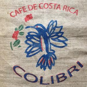 Makoha - sac toile de jute café Colibri