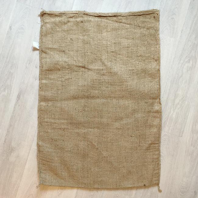Makoha - sac en toile de jute café Coopeterrazu - arrière