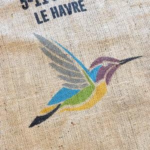 Makoha - sac en toile de jute café Coopeterrazu