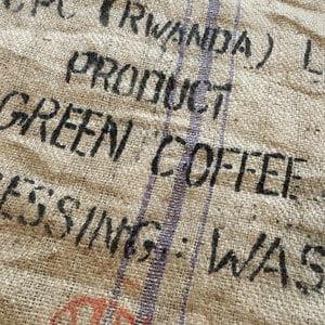 Makoha - sac en toile de jute café CPC Rwanda