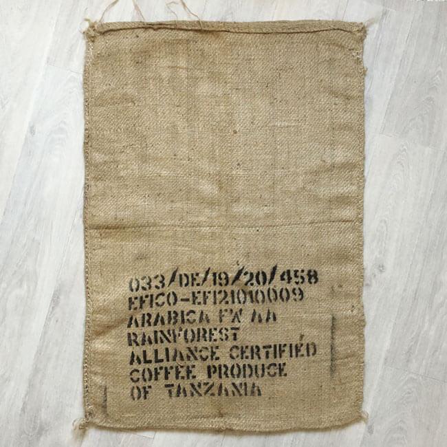 oha - Sac en toile de jute café Efico Reserve - arrière