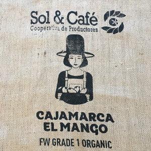 Makoha - sac en toile de jute café El Mango