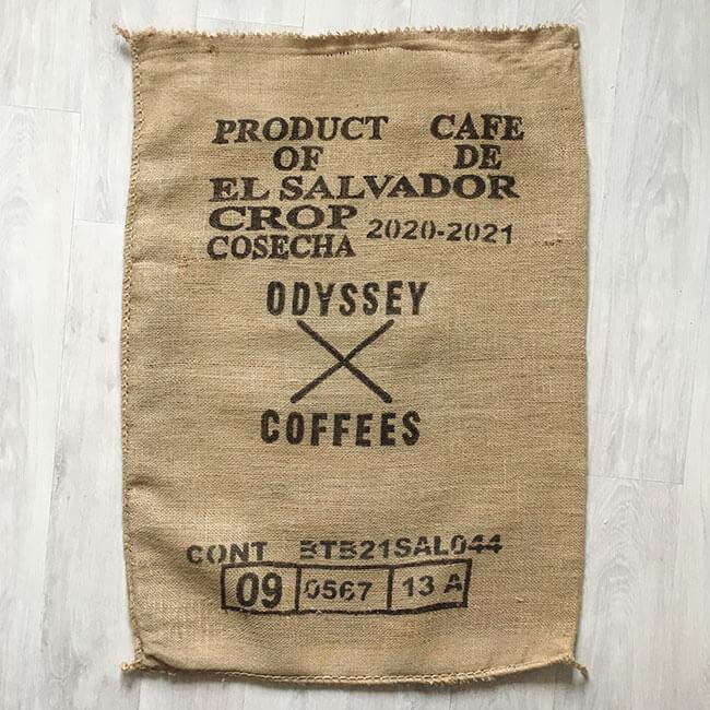 Makoha - sac de café en sisal Odyssey 2022 - arrière