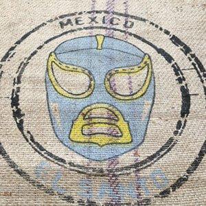 Makoha - Sac en toile de jute café El Santo