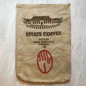 Makoha - Sac en toile de jute café Estate Coffee - avant