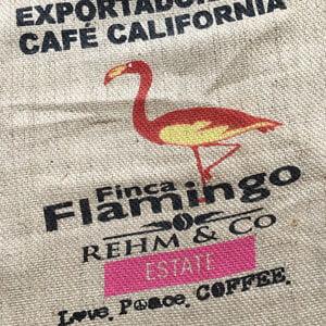Makoha - sac en toile de jute café Finca Flamingo