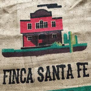 Makoha - Sac en toile de jute café Finca Santa Fe