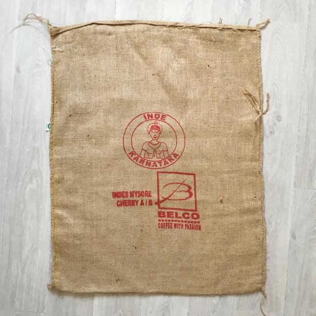 Makoha - sac en toile de jute café Karnataka - avant