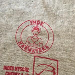 Makoha - sac en toile de jute café Karnataka