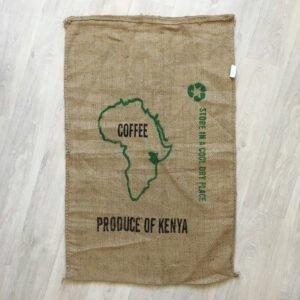 Makoha - sac en toile de jute café Kenya Arabica - avant