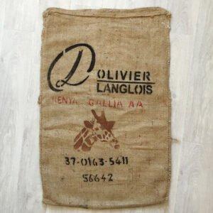 Makoha - sac en toile de jute café Kenya Gallia - avant