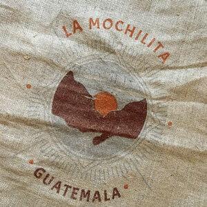 Sac toile de jute café La Mochilita