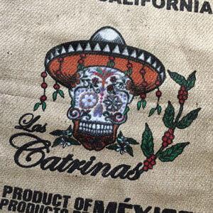 Makoha - sac en toile de jute café Las Catrinas