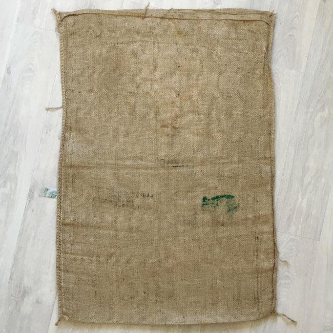 Makoha - sac en toile de jute Café Las Mercedes - arrière