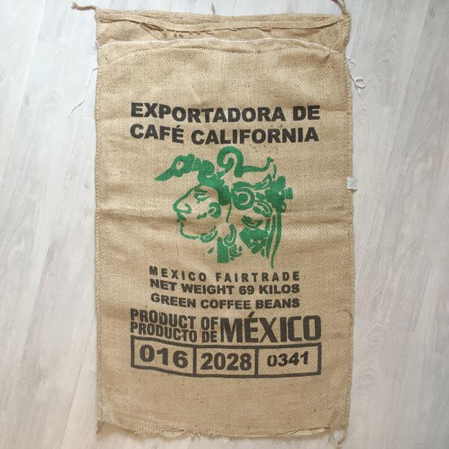 Makoha - sac en toile de jute café Mexico Fairtrade - avant
