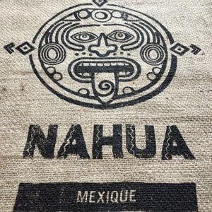 Sac toile de jute café Nahua