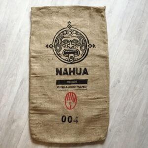 Sac toile de jute café Nahua - avant