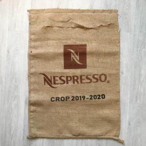 Makoha - sac en toile de jute café Nespresso - avant
