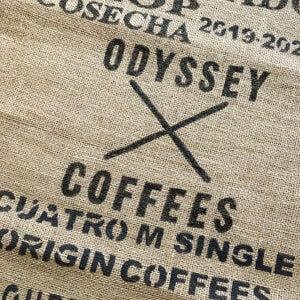 Sac toile de jute café Odyssey